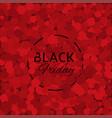 black friday vector image vector image