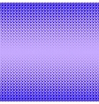 Blue Halftone Patterns vector image vector image