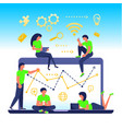 business people concept vector image vector image
