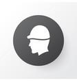 hat icon symbol premium quality isolated headwear vector image vector image