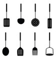 kitchen tool in black color vector image vector image
