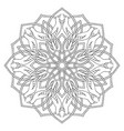mandala with birds vector image