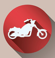 Motorcycle design vector image