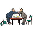 policy diplomacy and negotiations fight opponents vector image vector image