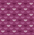 shell geometric seamless pattern vector image vector image