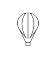Balloon icon outline vector image vector image