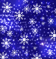 blue luxury christmas background 1 vector image vector image