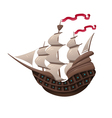 Galleon vector image
