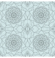 Seamless abstract ornament stencil round pattern vector image vector image