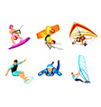 Air and water sport vector image