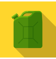 Colorful canister icon in modern flat style with vector image