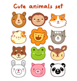 Animals Set vector image