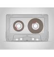 audio cassette 01 vector image vector image