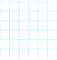 Blue Grid White Background vector image vector image