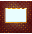 cinema frame vector image