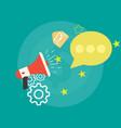 Communication concept notification application