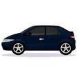 hatchback car body type vector image vector image