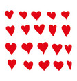 heart draw vector image