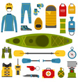 rafting-result vector image