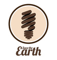 Save the Earth design vector image vector image