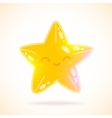 Cute cartoon little star image vector image