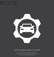 auto service premium icon vector image vector image