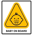 baon board sign on white background vector image vector image
