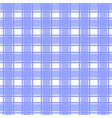 blue scotch pattern vector image