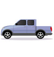 pickup track car body type vector image vector image