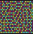 polka dot pattern seamless vector image vector image