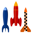 Set of rockets eps10 vector | Price: 1 Credit (USD $1)