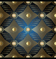 stars and sun seamless patterngreek geometric vector image vector image