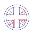united kingdom icon image vector image vector image