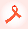 breast cancer awareness ribbon design and vector image