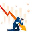 business failure stress vector image