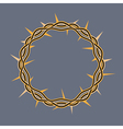 Crown of Thorns Icon vector image vector image