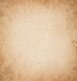 Realistic brown cardboard stained texture vector image vector image