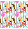 seamless pattern in pop art retro style abstract