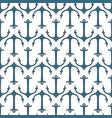 seamless pattern of marine symbols vector image vector image