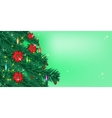 Christmas or New Year background Sparkling vector image