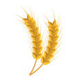 bread spikes isolated icon vector image