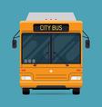 City Bus Icon vector image vector image