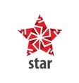 logo star vector image vector image