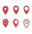 Set map pointer signs map pin icons