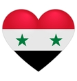Syria Flag Heart Syrian flag icon in shape of