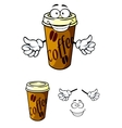 Takeaway cup of coffee vector image