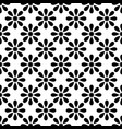tile black and white pattern for decoration vector image vector image