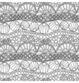 Doodle abstract seamless ornament Coloring page vector image