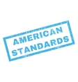 American Standards Rubber Stamp vector image vector image