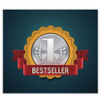 Bestseller badge vector | Price: 3 Credits (USD $3)